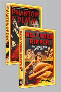 <b>Shameless</b> DVD label launches in the UK with <b>New York Ripper</b> and <b>Phantom of Death</b>