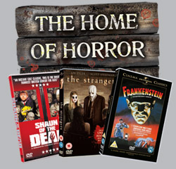 Winners of our Universal <b>Home of Horror</b> DVD competition