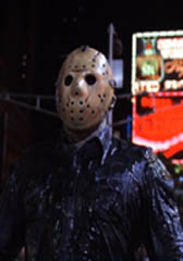 Jason being a mean muthafucka in Times Square, <b> Friday The 13th Part VIII : Jason Takes Manhattan </b>