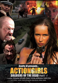 Info on the sexploitation flick, <b>Actiongirls: Soldiers of the Dead Part 1</b>