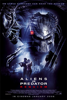 Posters, images and trailer links for <b>Alien Vs Predator Requiem</b>