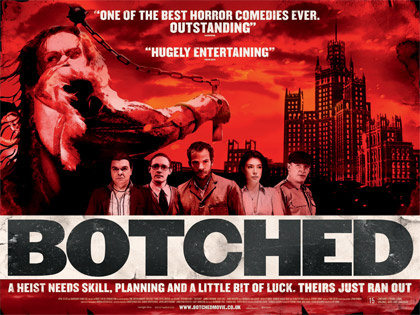 Botched UK Quad poster