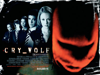 View the UK trailer for <b>Cry Wolf</b>