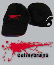Win one of five exclusive <b>eatmybrains</b> baseball caps