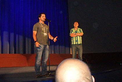 Frightffest 2006 – Adam Green, director of Hatchet