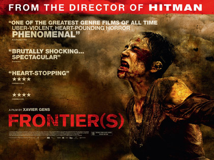 Frontier(s) UK quad poster