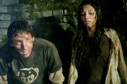 Hatchet - Ben (Joel David Moore) and Marybeth (Tamara Feldman)