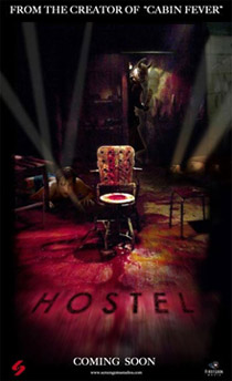 US <b>Hostel</b> release moved forward to 2005