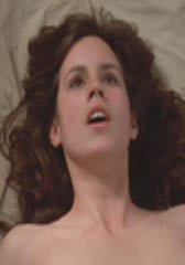 Deborah Sue Vorhees gets her boobs out in <b> Friday the 13th : A New Beginning</b>