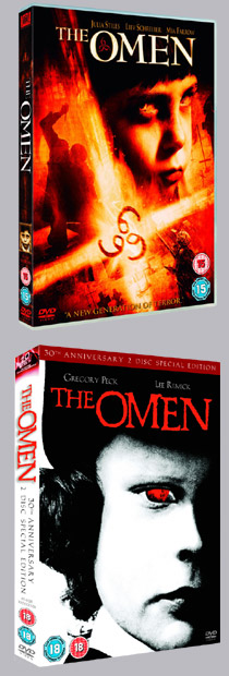 Lots of <b>Omen</b> clips, microsites and mobile wallpapers