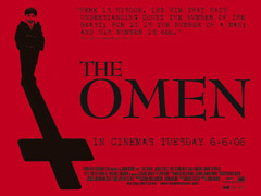 Win <b>The Omen</b> T-shirts, caps and dog tags