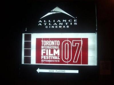 The Toronto International Film Festival