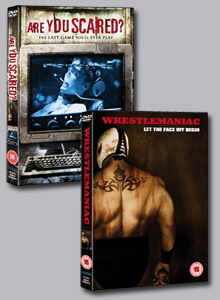 Winners of our <b>Wrestlemaniac</b> and <b>Are You Scared?</b> competition