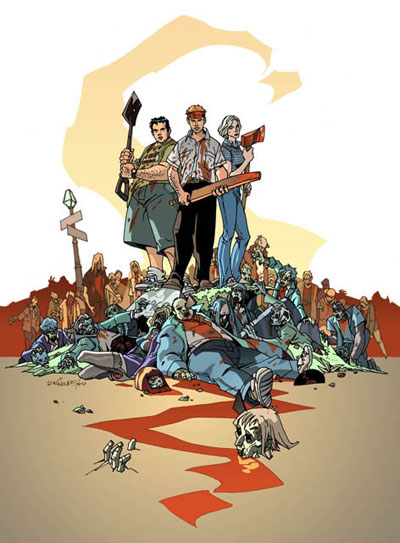 <b>Shaun of the Dead</b> comic to be published in June