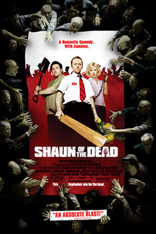 US <b>Shaun of the Dead</b> poster
