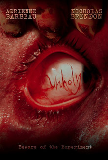 New poster arrives for <b>Unholy</b>