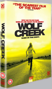 Win Region 2 <b>Wolf Creek</b> DVDs